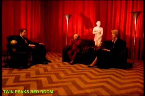 twin peaks red room dream sequence