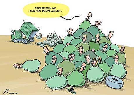 disposableworkers, cartoonist unknown