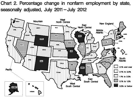 state payrolls change map 07-12