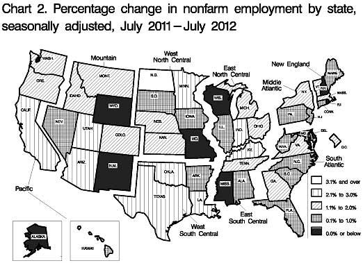 state payrolls change map 07-12