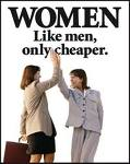 women not paid as much
