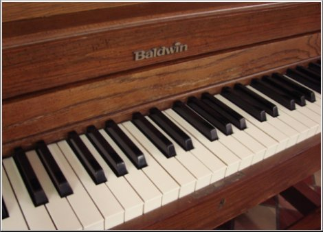 Baldwin Hamilton studio piano model 246