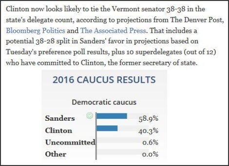 Bernie Sanders - Denver Post
