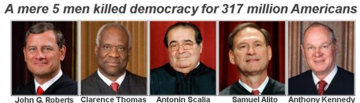 The Supremes that killed Democracy