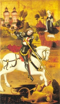 St. George and the Dragon (c. 1470), wikimedia commons